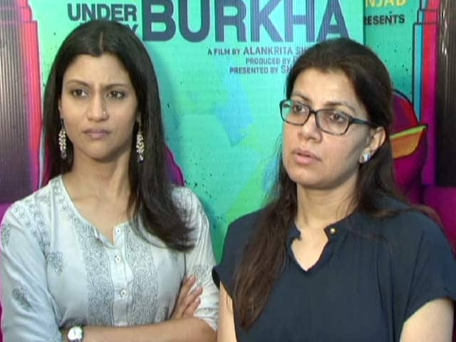 Konkana Sen Sharma & Director Alankrita Shrivastava Blast CBFC