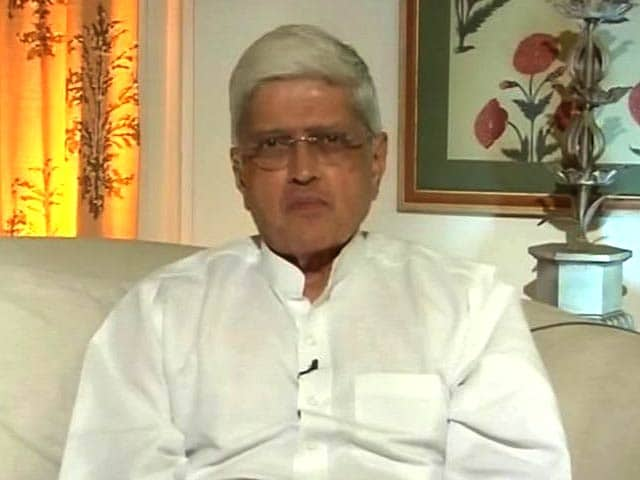 Video : Gopalkrishna Gandhi On What He Is Fighting For