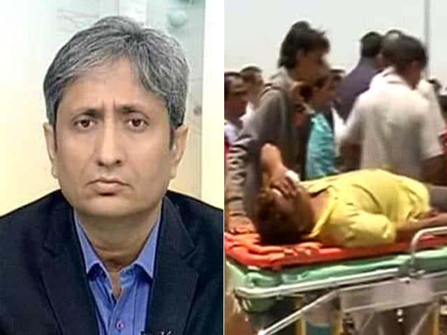 Videos : प्राइम टाइम : सुरक्षा में लापरवाही से हुआ अमरनाथ यात्रियों पर हमला?