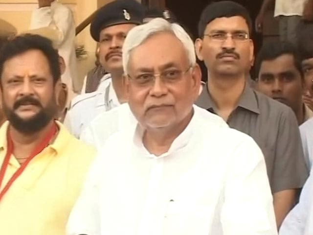 Video : Nitish Kumar Returns Rahul Gandhi's Call With Message Of Support