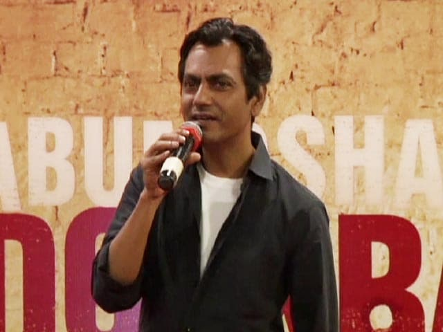 When Nawazuddin Siddiqui Took Inspiration From James Bond