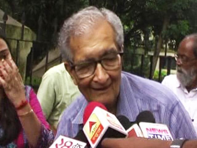 Video : Can't Say Cow, Hindutva: Censor Board Wants Amartya Sen Beeped In Film
