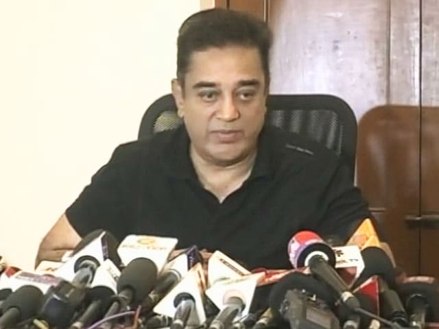 Video : To Calls For His Arrest For Bigg Boss Tamil, Kamal Haasan Had This Answer