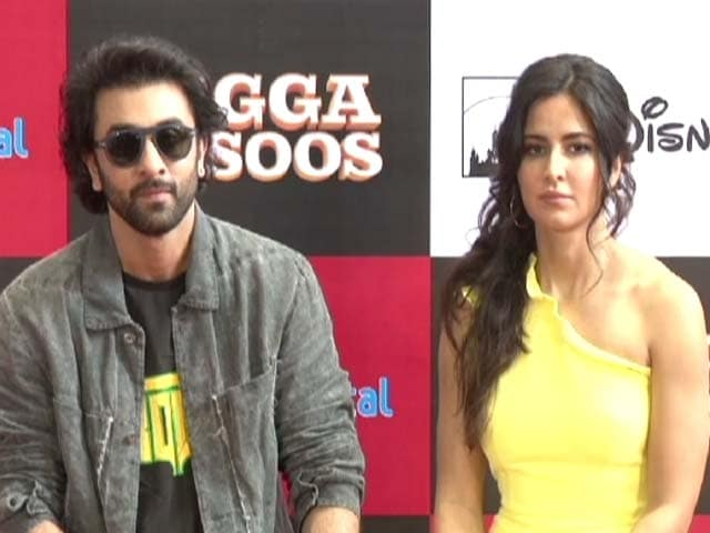 Video : Ranbir And Katrina's Last Promotional Event For <i>Jagga Jasoos</i>