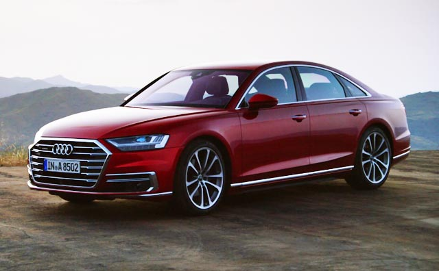 India Bound Audi A8 Unveiled