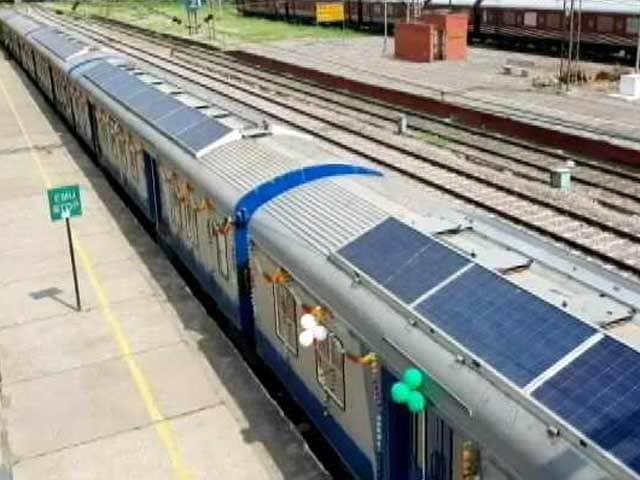 Videos : सौर ऊर्जा से चलने वाली देश की पहली ट्रेन परीक्षण के लिए तैयार