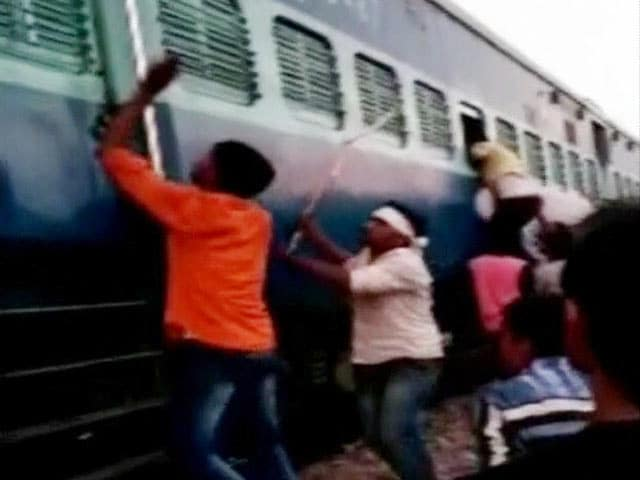 Video : Muslim Family Assaulted With Rods, Communal Slur By Mob In UP Train