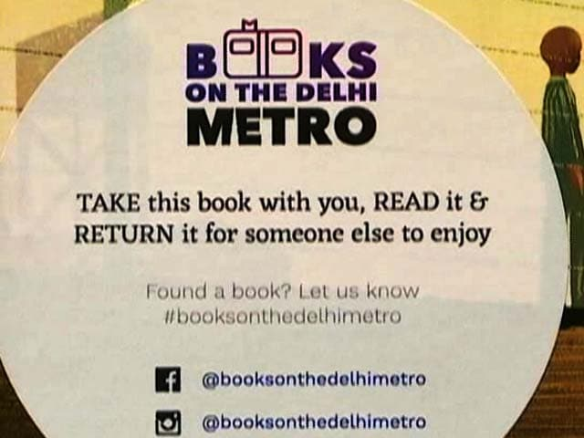 Video : Books On Delhi Metro: Take It, Read It And Drop It