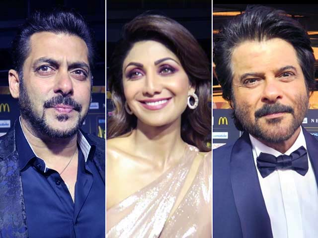Salman Khan, Anil Kapoor, Shilpa Shetty And Others Stars At IIFA Awards
