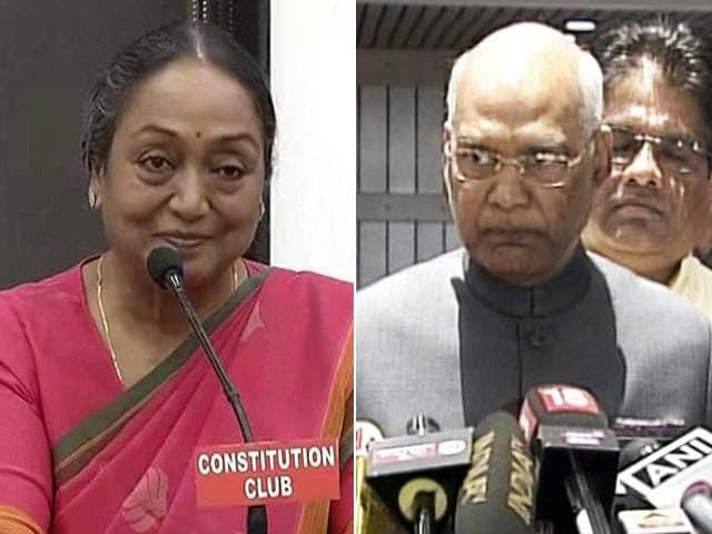 Videos : राष्ट्रपति चुनाव के लिए वोटिंग, रामनाथ कोविंद और मीरा कुमार के बीच मुकाबला