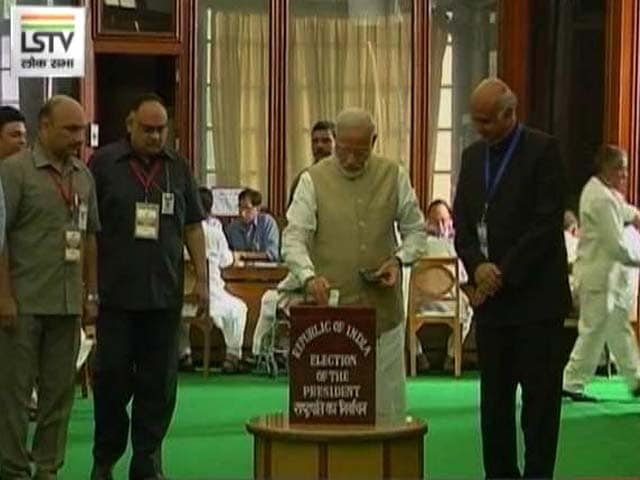 Video : In President Election Today, Ram Nath Kovind Set For Easy Win