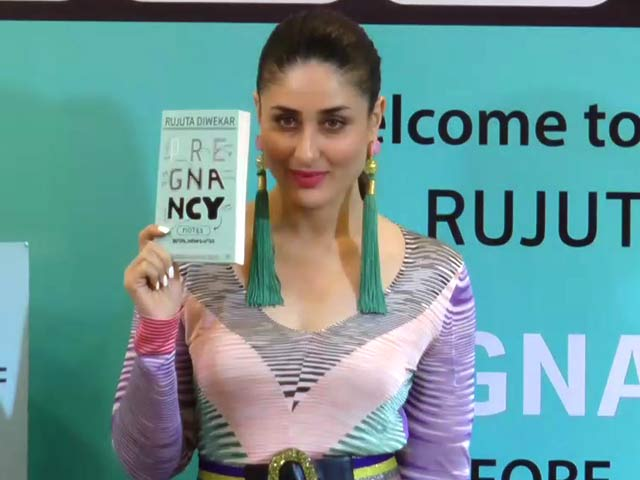 Kareena Kapoor Khan Launches Rujuta Diwekar's New Book