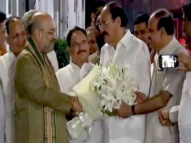 Videos : Good Evening इंडिया : कौन बनेगा उपराष्ट्रपति?