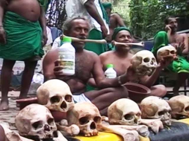 Video : 'Rain Or Sun, Agitation Won't Stop': Tamil Nadu Farmers Return To Delhi