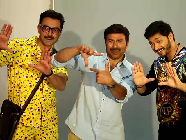 Video : Sunny Deol, Bobby Deol & Shreyas Talpade's Photoshoot For <i>Poster Boys</i>