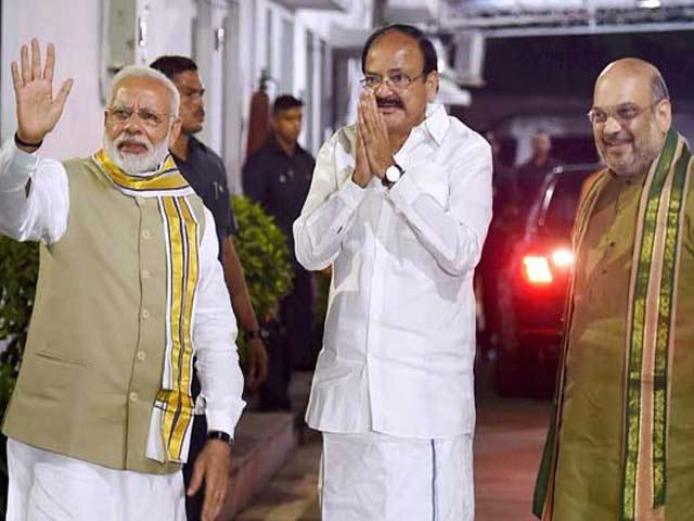 Videos : वेंकैया नायडू VS गोपालकृष्ण गांधी: दोनों एक ही दिन भरेंगे पर्चा