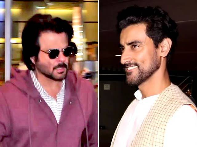 Anil Kapoor, Kunal Kapoor & Other Stars Return Home After Attending IIFA Awards