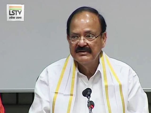 Video : Veep Choice Venkaiah Naidu Wept Inconsolably Over Quitting 'Mother' BJP
