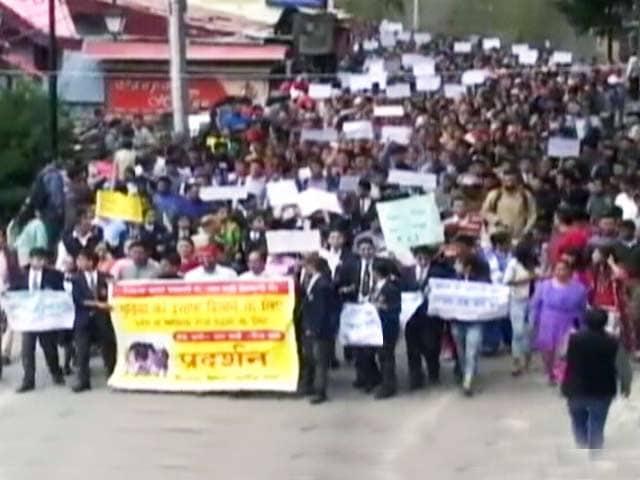 Videos : शिमला में नाबालिग से रेप, हत्या के विरोध में प्रदर्शन