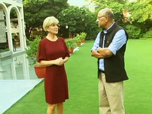 Video : Walk The Talk With Australian Foreign Minister