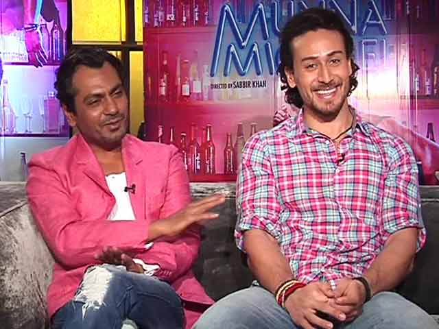 Video : Dance Seemed Odd In Tiger Shroff's Presence: Nawazuddin Siddiqui
