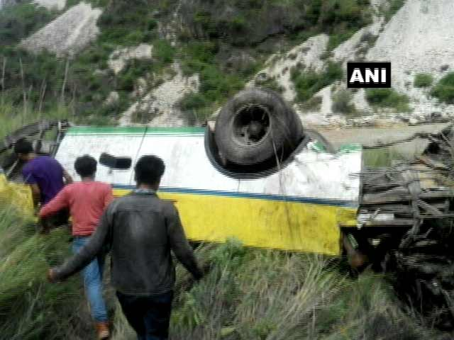 Video : Over 20 Dead As Bus Falls Into Gorge Near Rampur In Himachal Pradesh