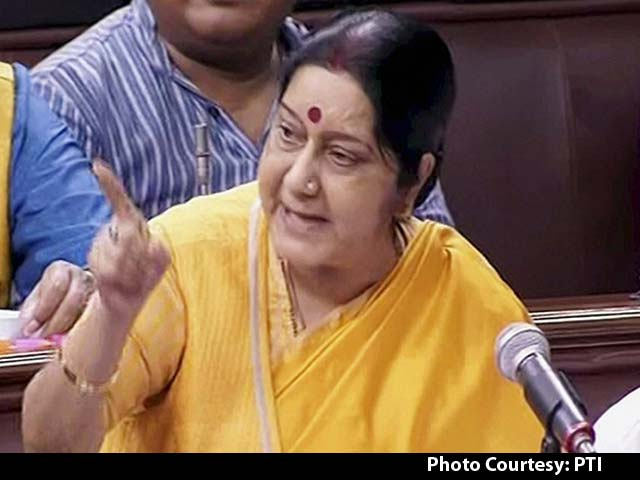 Video : 'All Countries Are With India,' Says Sushma Swaraj On Border Standoff With China