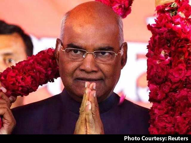 Video : Ram Nath Kovind Elected President Of India