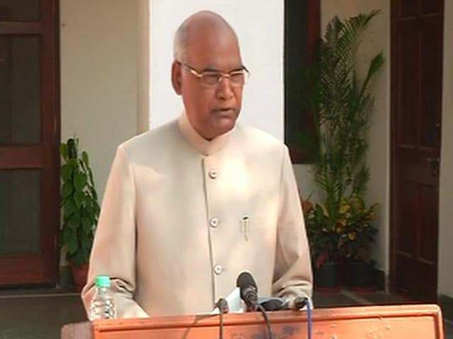 Video: It's A Great Responsibility, Says Ram Nath Kovind On Win