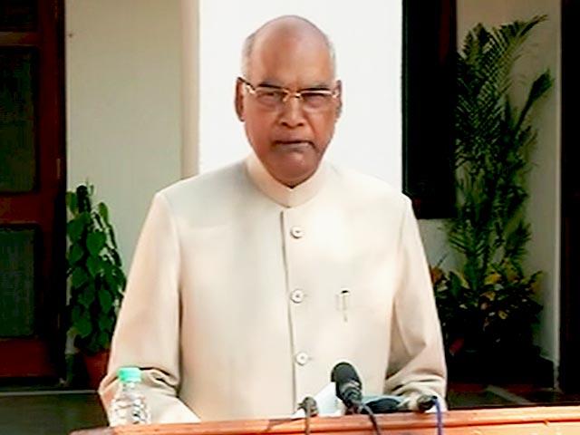 Videos : राष्ट्रपति पद के लिए चयन बहुत बड़ी जिम्मेदारी का अहसास करा रहा है - रामनाथ कोविंद