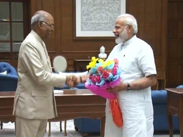 Video : बड़ी ख़बर : राम नाथ कोविंद बने भारत के 14वें राष्ट्रपति