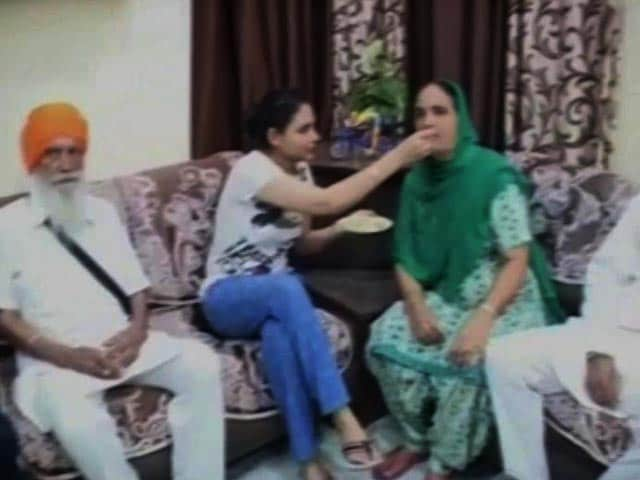 Video : Harmanpreet Kaur's Family Celebrates After Her Record-Breaking Knock