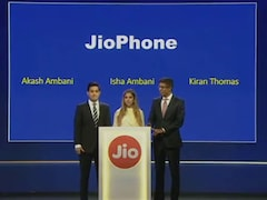 Mukesh Ambani Launches Jio 4G VoLTE Feature Phone at Reliance AGM