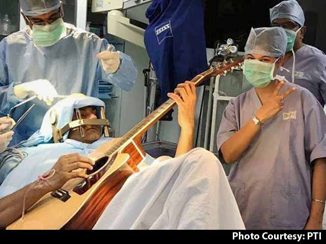 Video : Bengaluru Surgeons Drilled Into Skull, He Played Guitar In Brain Surgery