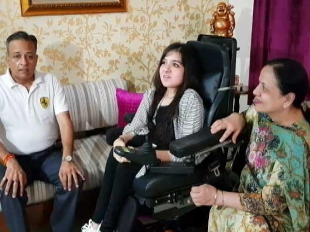 Video : स्पाइनल मस्क्यूलर एट्रोपी से पीड़ित तन्वी लड़ रही है जिंदगी और मौत की लड़ाई