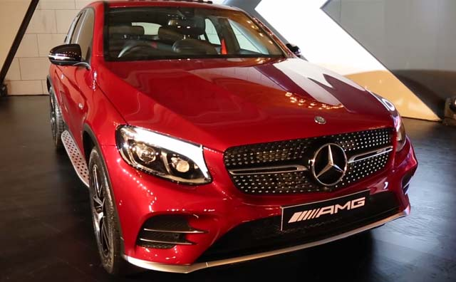 Mercedes-AMG GLC 43 4Matic Coupe India First Look