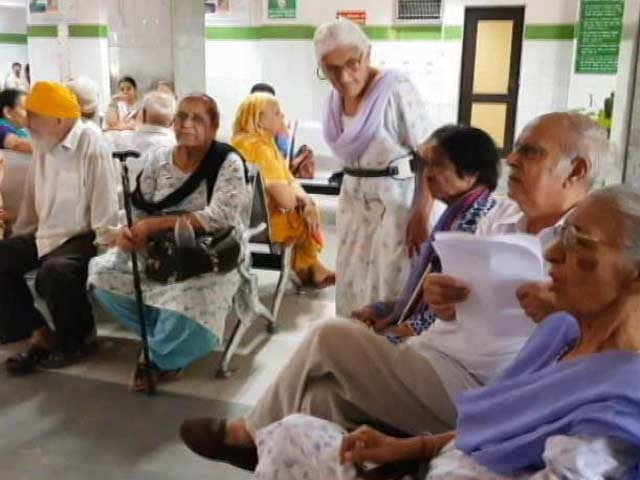 Video : Overcrowded, Understaffed: Only 100 Of 250 Beds Functional In This West Delhi Hospital