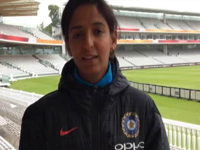 Video : 'We Just Want To Play Good Cricket In Finals': Harmanpreet Kaur To NDTV