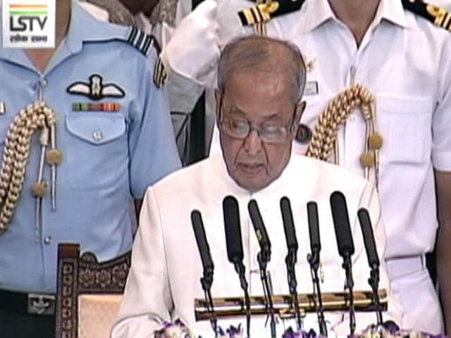 Videos : संसद के सेंट्रल हॉल में राष्ट्रपति प्रणब मुखर्जी को दी गई औपचारिक विदाई