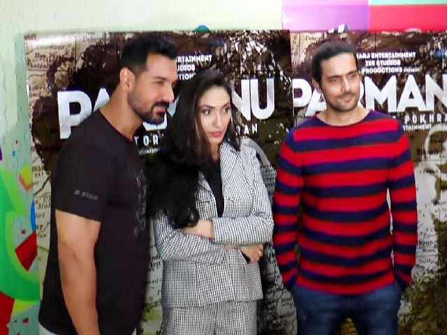 John Abraham On Film Parmanu: The Story Of Pokhran
