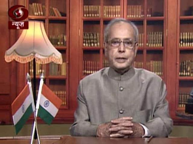 Videos : इंडिया 8 बजे : राष्ट्रपति प्रणब मुखर्जी का राष्ट्र के नाम विदाई संबोधन, कहा-भारत की आत्मा सहिष्णुता में