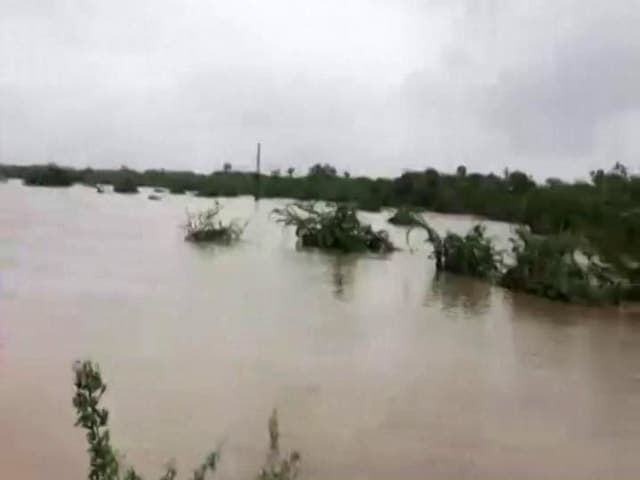 Video : Flood Fury In Rajasthan, Gujarat; Key Highways Damaged