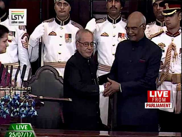 Video: Ram Nath Kovind Takes Oath As 14th President Of India