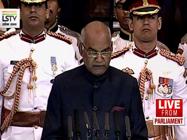 Video: President Ram Nath Kovind Says Unity Is The Way Forward