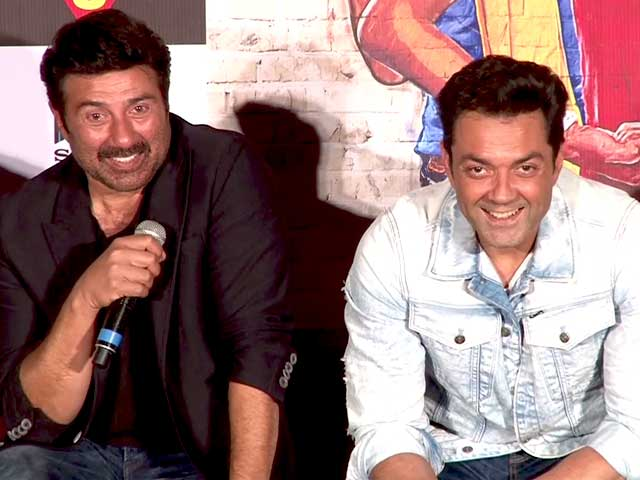 Video : I Am Known Only For Actions Films: Sunny Deol