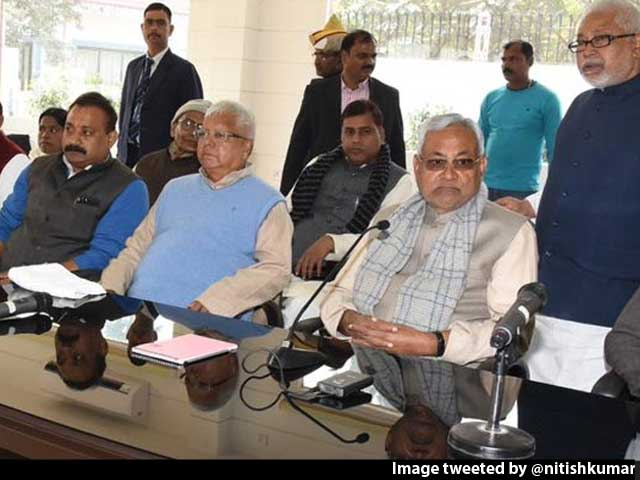 Video : 'Nitish Kumar Is No Saint' Shoots Off Team Lalu, Bihar Alliance Lurches