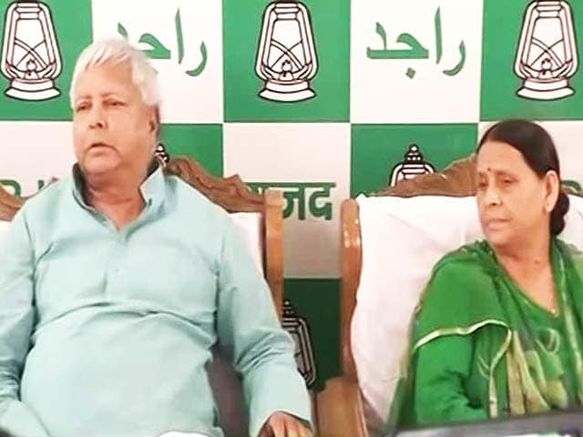 Lalu Yadav Rules Out Son Tejashwi's Resignation