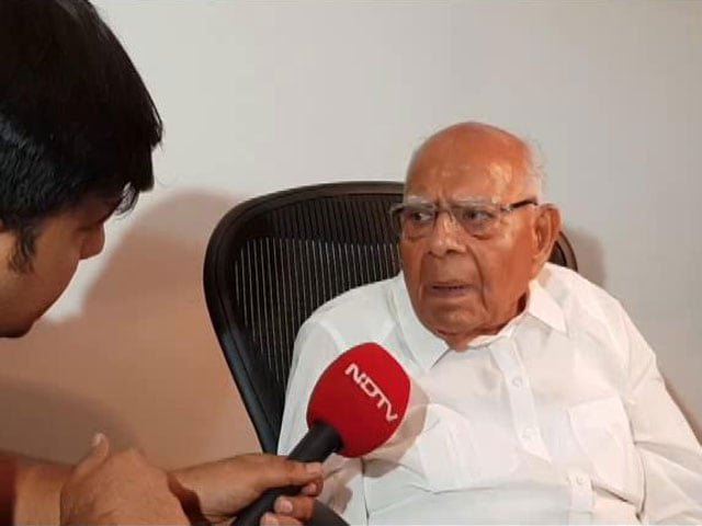 Video : Ram Jethmalani Quits As Arvind Kejriwal's Lawyer, Says Keep 2 Crore Fee