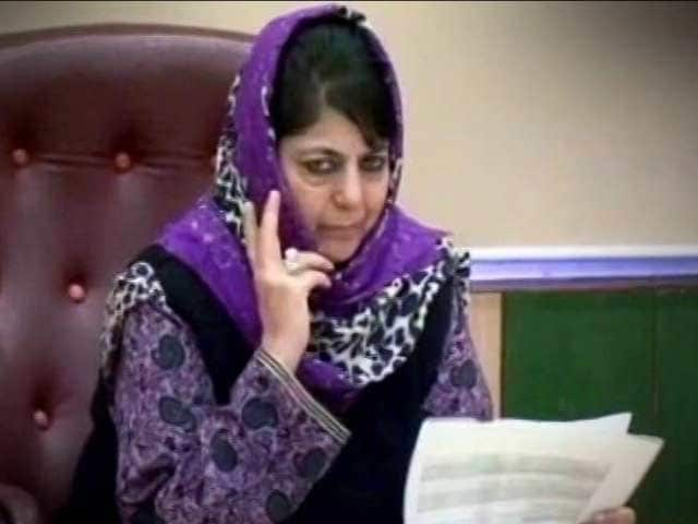 Mehbooba Mufti Government Tried To Stop Arrest Of Separatists: Sources