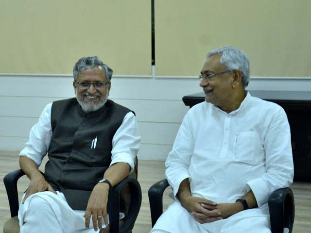 Nitish Kumar Stakes Claim To Form Government With BJP, Oath Today